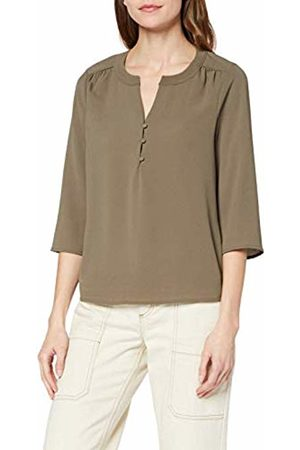 Vero Moda Women's Vmsasha 3/4 Button Top Ga Blouse