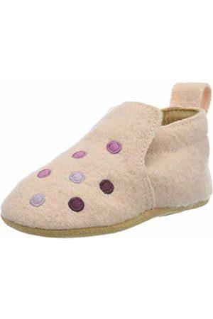 Haflinger Unisex Babies' Lauflernschuh Pearl Slippers, (Rose 24)