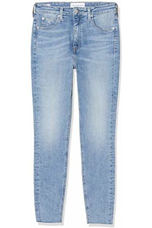Calvin Klein Women's HIGH Rise Super Skinny Ankle Jeans