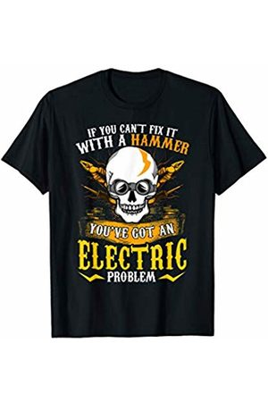 Tee Styley Electrician Electricians Funny Quote Humorous Sayings Gift T-Shirt