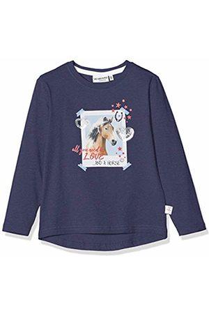 Salt & Pepper Salt and Pepper Girls' Pferde Fotodruck mit Pailletten Longsleeve T - Shirt