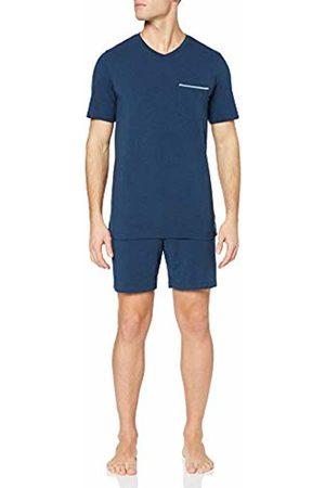 Schiesser Men's Long Life Cotton Schlafanzug Kurz Pyjama Set