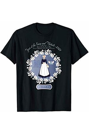 Appreciation Gift for Nurse and Midwife - 2020 Florence Nightingale T-Shirt