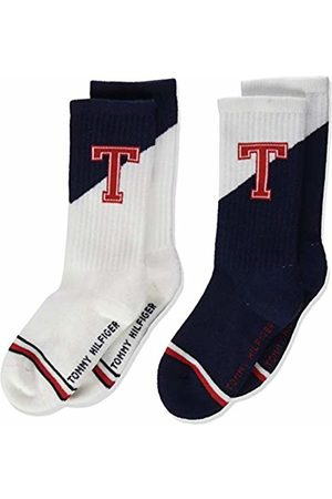 Tommy Hilfiger Boy's Kids Sock 2p Th Patch Calf