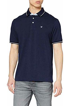 Hackett Hackett Men's Multi Trim Pique Polo Shirt