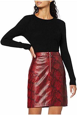 find. Women's Skirt Mini Faux Snakeskin