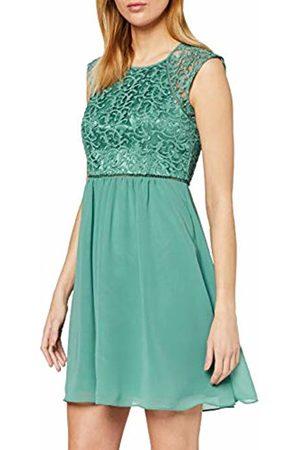 Vera Mont Women's 0101/4825 Dress, (Mint Leaf 5331)