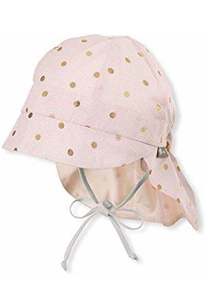 Sterntaler Baby Girls' Schirmmütze Mit Nackenschutz Hat