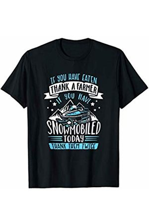 Funny Snowmobile Shirts and Gifts Funny Winter Sports Snowmobiling Snowmachine T-Shirt
