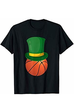 St Patricks Day 2020 Gifts Basketball Leprechaun St Patrick's Day Sport Funny Gift T-Shirt