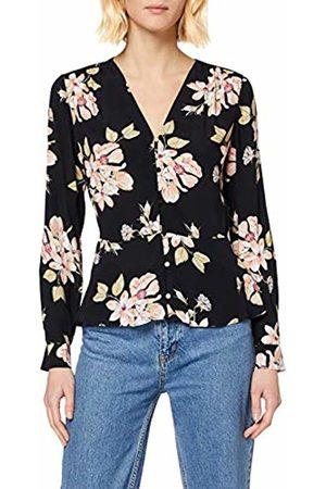 warehouse Women's Sia Floral Printed Top
