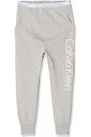 Calvin Klein Boy's Lounge Pant Trouser, ( Heather 016)