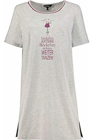 Ulla Popken Women's Große Größen Longshirt, Fee - Organic Night Shirt
