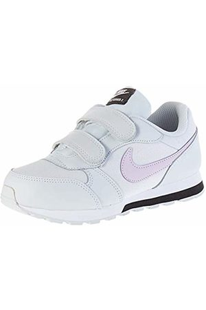 Nike Unisex Kids' Md Runner 2 (ps) Gymnastics Shoes, Photon Dust/Iced Lilac/Off Noir/