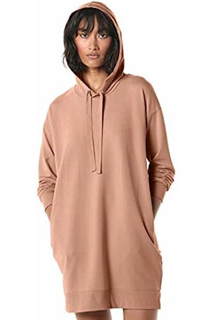 The Drop Women's Iona Long-Sleeve Hooded Mini Sweatshirt Dress