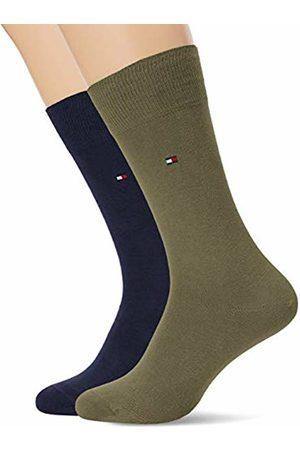 Tommy Hilfiger Men's Th Sock Classic 2p Calf