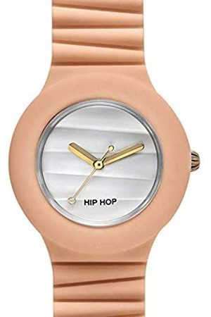 Hip Watches - Ladies Watch Apricot ice HWU0511 - Sensoriality Collection - Silicone Wrist Strap - Waterproof Up to 5 ATM - 32mm Case - Peach