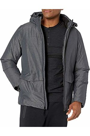 Peak Velocity Amazon Brand - Snow Tech Jacket With Puffer Lining Down Alternative Coat