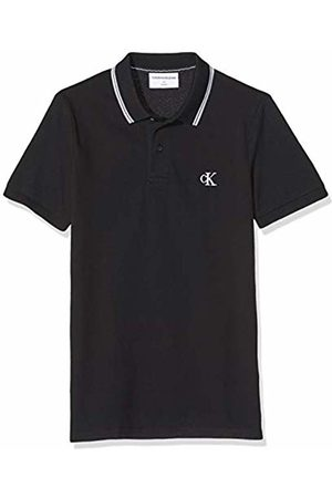 Calvin Klein Men's Essential Tipping Slim Polo Shirt