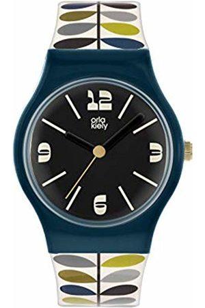 Orla Kiely Women's Analogue Analog Quartz Watch with Plastic Strap OK2340