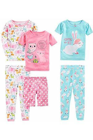 Simple Joys by Carter's 6-piece Snug Fit Cotton Pajama Set Owl/Monkey/Animals