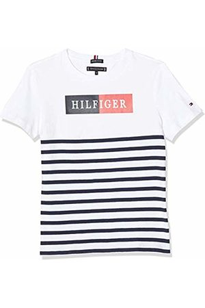 Tommy Hilfiger Boy's Mixed Artwork Stripe TEE S/S T-Shirt