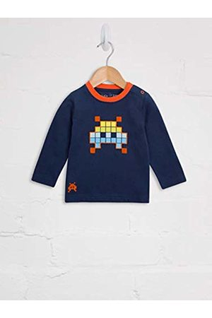 Lucy & Sam Baby Space Invader Long Sleeve Tee T - Shirt