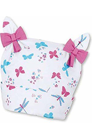 Sterntaler Baby Girls' Beanie hat Knotted (Weiss 500)