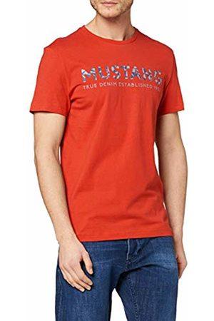 Mustang Men's Aaron C Print T - Shirt