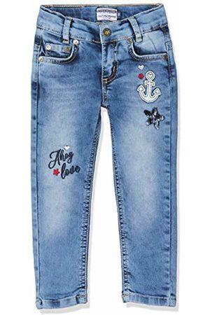 Salt & Pepper Girl's Mit Ankerstickerei Und Pailettenstern Jeans