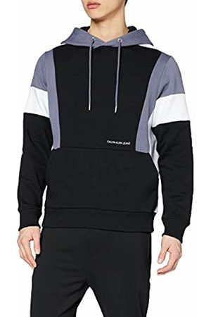 Calvin Klein Men's Color Block Hoodie Sweatshirt