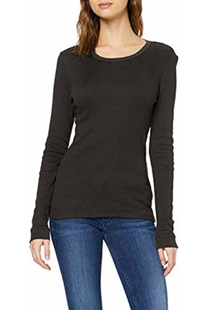 Tommy Hilfiger Women's TH ESS Skinny Rib TEE LS Long Sleeve Top, ( Bds)