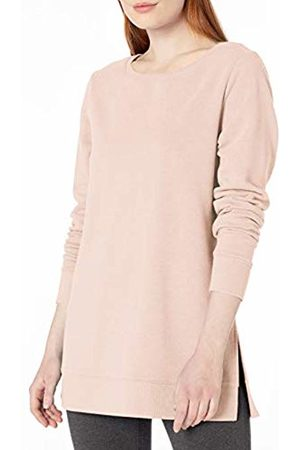 Amazon Open-Neck French Terry Fleece Tunic Sweatshirt