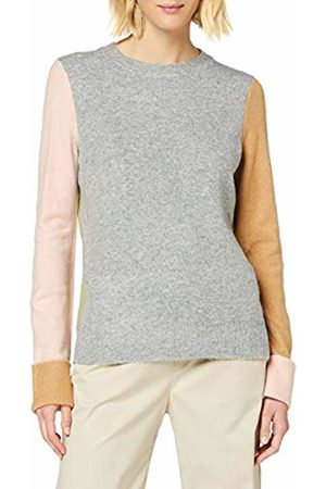 warehouse Women's Colourblock Cosy Crew Jumper