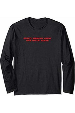 Aesthetic Clothes & Soft Grunge Clothing Society Aesthetic Clothes Soft Grunge Punk Boys Teen Girls Long Sleeve T-Shirt