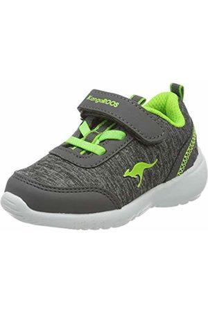 KangaROOS Unisex Babies' Kc-citylite Ev Low-Top Sneakers, (Steel /Lime 2014)