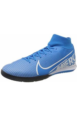 Nike Unisex Adults Mercurial Superfly 7 Academy Ic Futsal Shoes, ( Heron/ /Obsidian 414)