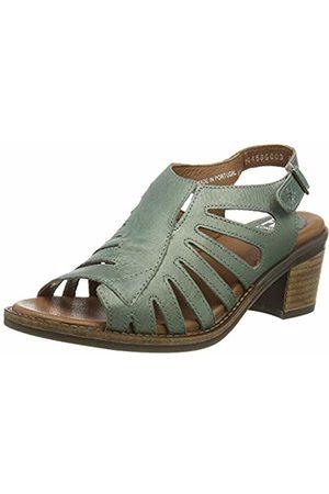 Fly London Women's ZENA586FLY Open Toe Heel Sandals, (Mynt 003)