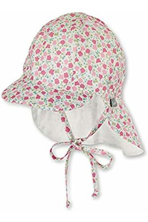 Sterntaler Girl's Sun hat with Neck Protection