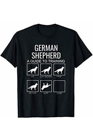 Stubborn Dogs Apparel German Shepherd Owner Tshirt Funny Guide To Dog Training T-Shirt
