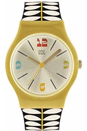Orla Kiely Women's Analogue Analog Quartz Watch with Plastic Strap OK2336