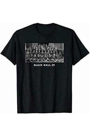 Black History Teacher Gift Society American Black History Month Black Wall Street Never Forget T-Shirt