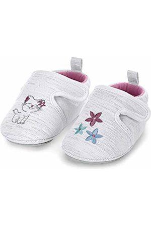 Sterntaler Girls' Baby-Krabbelschuh Slippers, (Weiss 500)