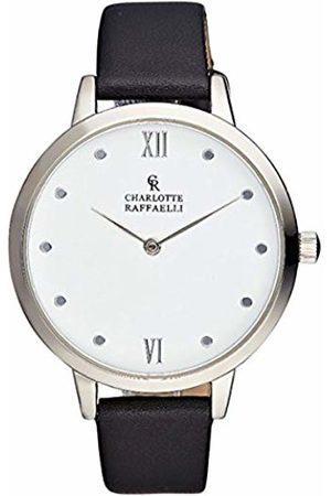 Charlotte Raffaelli Unisex-Adult Analogue Classic Quartz Watch with Stainless Steel Strap CRB007