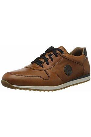 Rieker Men's Frühjahr/Sommer Low-Top Sneakers, (Peanut/Peanut/Ozean/ 23 23)