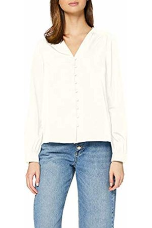 Vero Moda Women's Vmnadia Ls V-Neck Button Shirt Ga Blouse