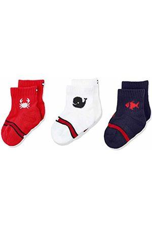 Tommy Hilfiger Baby Girls' Th Sock 3p Giftbox Newborn Calf