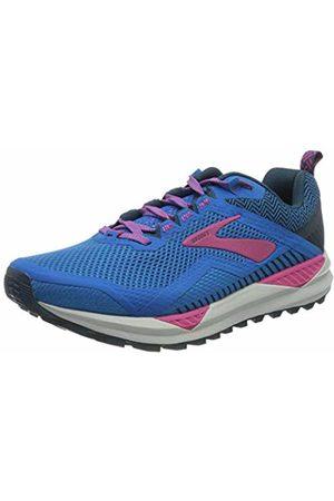 Brooks Women's Cascadia 14 Running Shoe, Aster/Beetroot/Gray