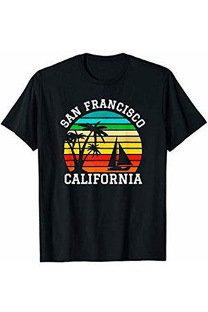 Sunset Palms Beach Shirts San Francisco California Shirts Matching Family Vacation T-Shirt