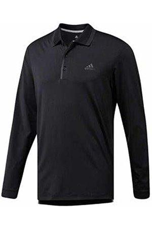 adidas Men's Ultimate Longsleeve Polo Shirt, (Negro CY7416)